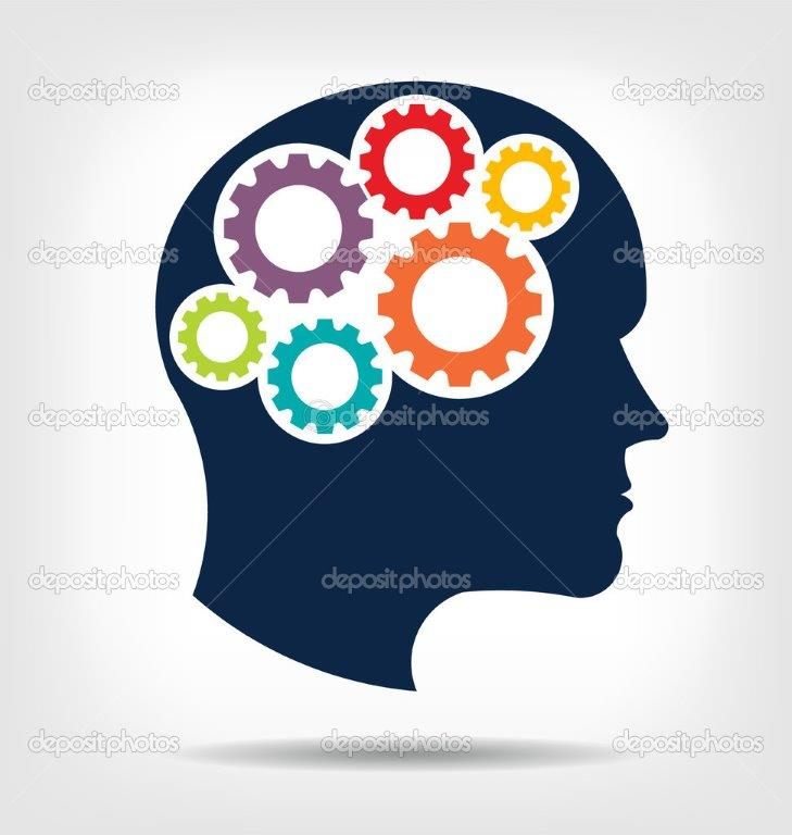 depositphotos 43790977 stock illustration vector head gears abstraction of